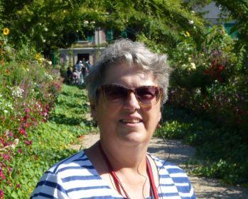 Cathy at Giverny